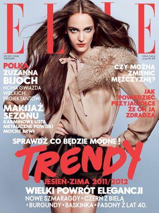 Zuzanna Bijoch dla Elle Poland