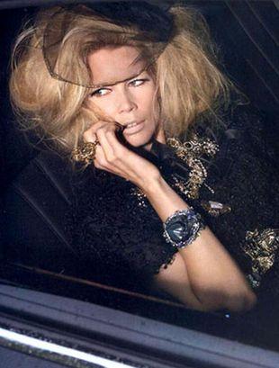 Claudia Schiffer w świecie D&G
