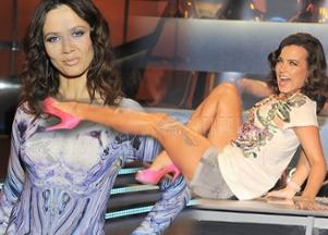 Dyskotekowa Mucha i Rusin w sukience a la McQueen