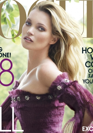 Kate Moss ponownie na okładce Vogue