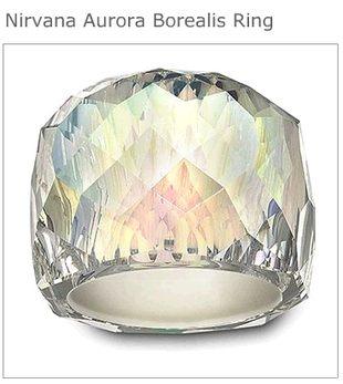 Pierścionek Nirvana Aurora Borealis od Swarovskiego