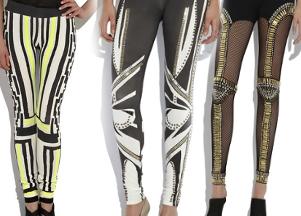 Oryginalne legginsy Sass&Bide