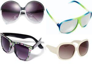 Okulary przeciwsłoneczne - 15 modeli