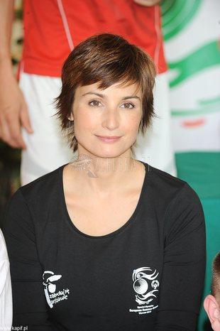 Joanna Brodzik zmieniła uczesanie