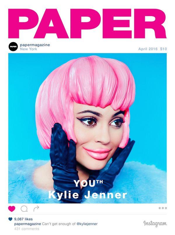 PADNIECIE, gdy zobaczycie najnowszą okładkę Kylie Jenner