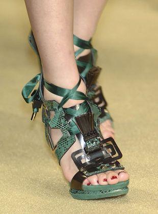 Sandały z Topshopu jak od Louisa Vuittona