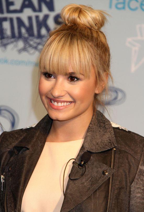 Fryzury Demi Lovato