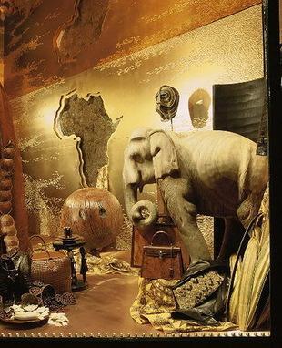 Niesamowite okna wystawowe Maison Hermes