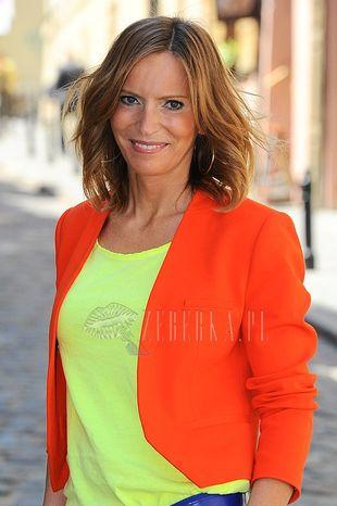 Kolorowa Paulina Smaszcz-Kurzajewska (FOTO)
