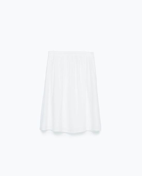 Zara Wyprzedaż - Modne spódnice na lato (FOTO)