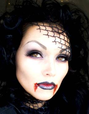 Niesamowite makijaże na Halloween