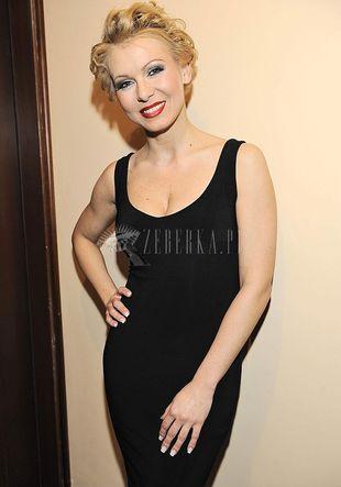 Mocny makijaż Karoliny Nowakowskiej