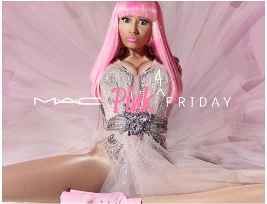 Nicki Minaj w kampaniach marki MAC