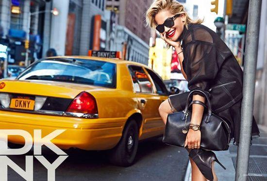 Rita Ora w kampanii DKNY