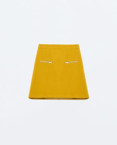 Zara Canary Stripes - Wiosenna minikolekcja w pasy i...