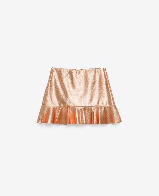 Wyprzedaż w Zarze - 10 modnych, krótkich młodzieżowych spódnic (FOTO)