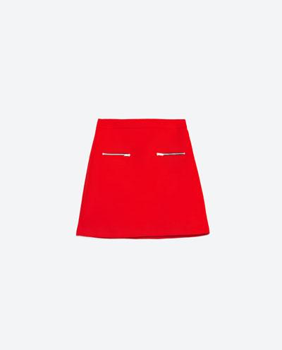 Zara Red Cartoon - Czerwień i młodziezowe akcenty na wiosnę