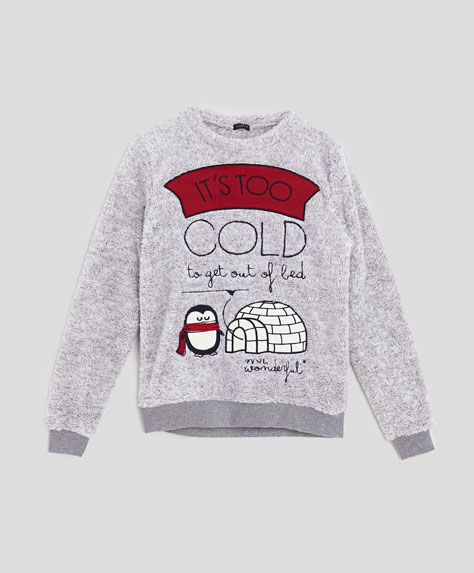Oysho Mr. Wonderful - Przytulane, ciepłe piżamki na zimę
