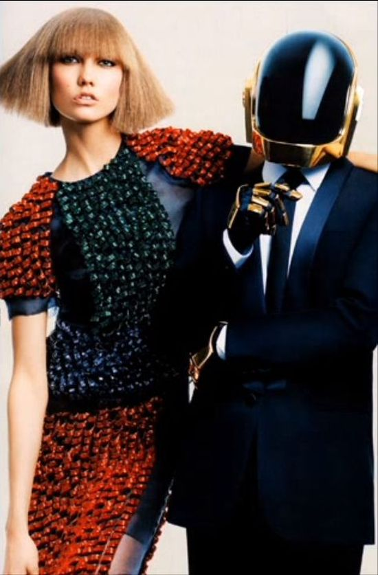 Daft Punk i Karlie Kloss dla Vogue