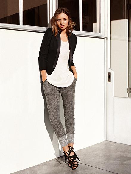 Miranda Kerr w wiosennej kampanii H&M 2014