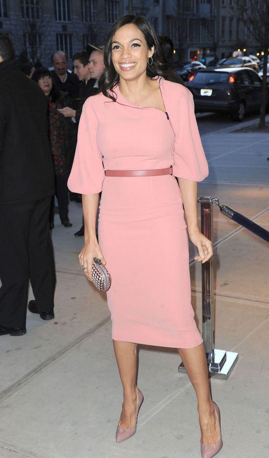 Gwiazdy w różowych sukienkach