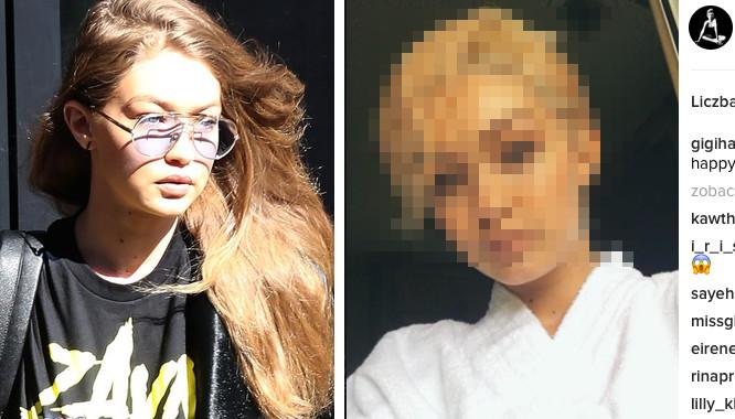 Nieeeeee! Padniecie jak zobaczycie co zrobiła z włosami Gigi Hadid! (FOTO)