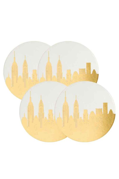 H&M Home Styleowe Sny - Białe i złote akcenty w wystroju wnętrz na lato