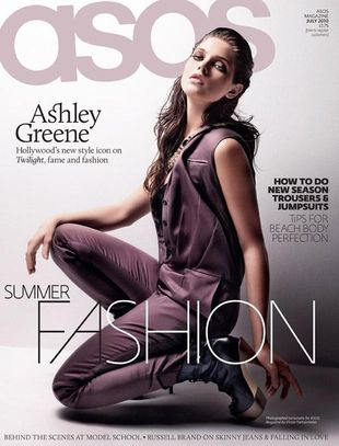 Ashley Greene dla ASOS Magazine