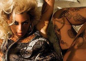 Beyonce promuje swoją kolekcję
