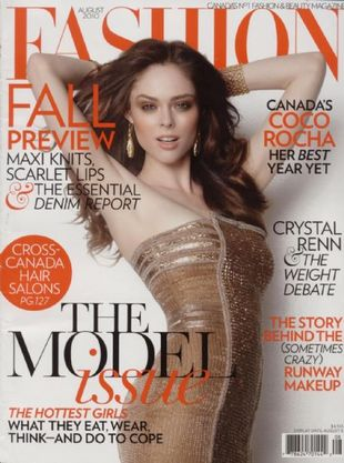 Coco Rocha dla Fashion Magazine