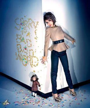 Jessica Alba i jej lalka