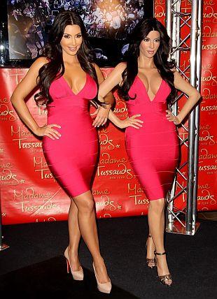 Woskowa figura Kim Kardashian