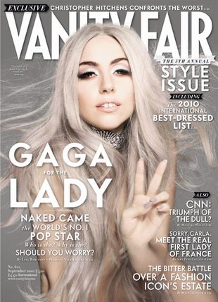 Lady Gaga w Vanity Fair