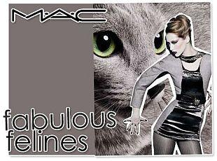 Koci makijaż od MAC