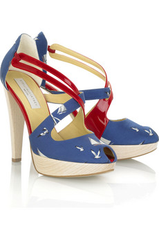 nautical platform shoes