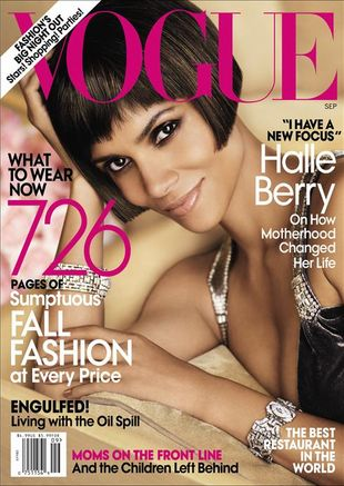 Halle Berry w Vogue