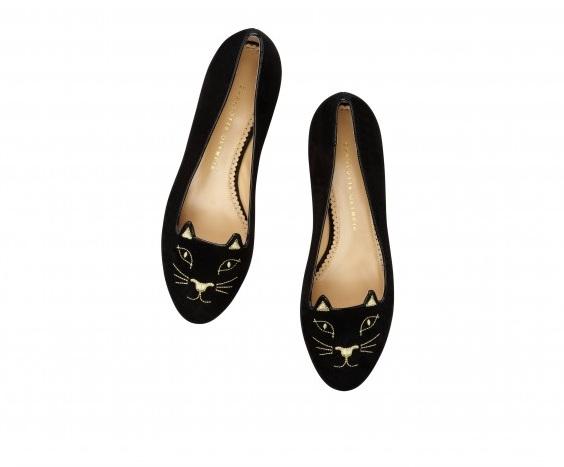 Bella Thorne i Chloe Moretz w butach Kitty Flats by Olympia