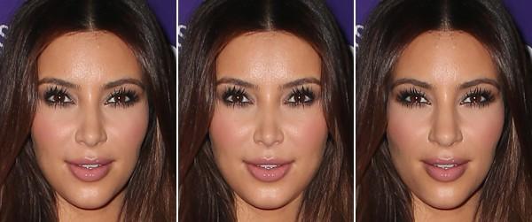 Symetryczne twarze gwiazd