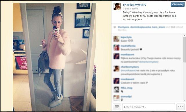 Blogerki modowe na swoich instagramowych profilach (cz.2)