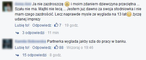 Burza na FB Rafała Jonkisza! Poszło o... sukienkę... (FOTO)