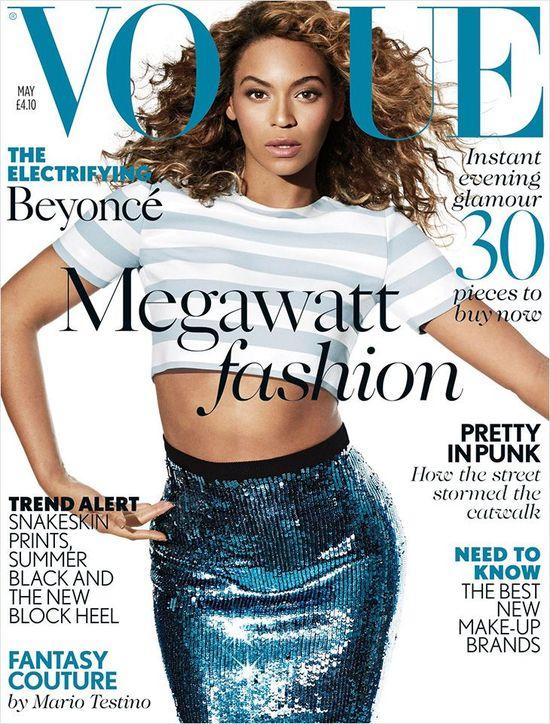 Beyonce na okładkach magazynu Vogue