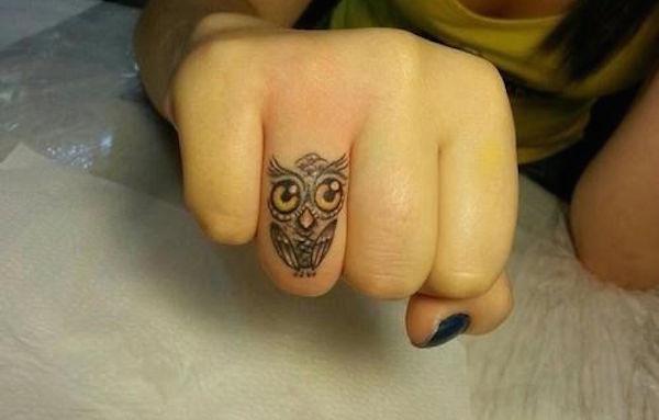 Tatuaż Na Palcu Inspiracje Zdjęcie 19 Zeberkapl