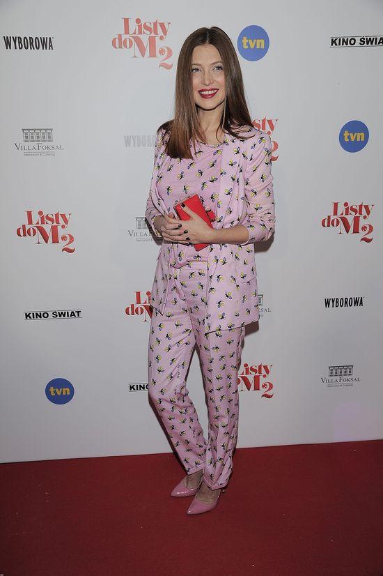 Ada Fijał zaprezentowała się w stylowej... piżamie(?)