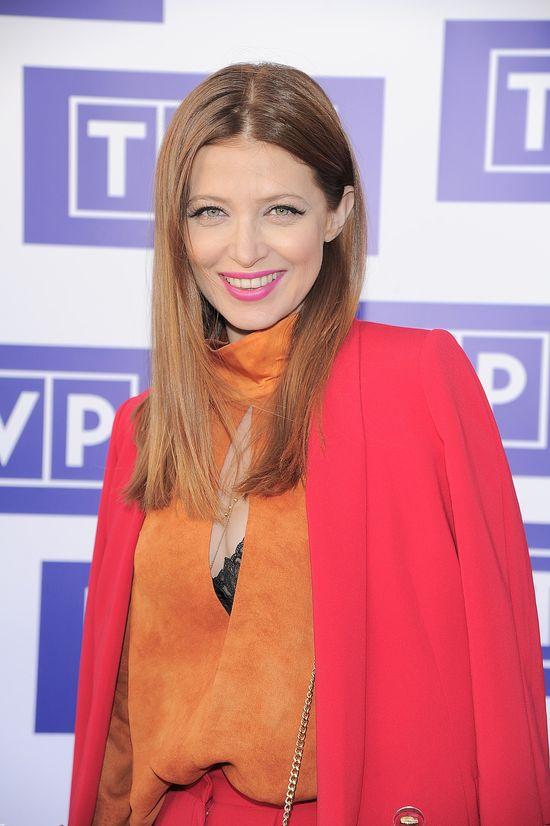 Ada Fijał w jesiennym wydaniu na prezentacji ramówki TVP