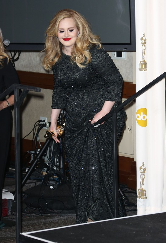 Adele w sukni Jenny Packham (FOTO)