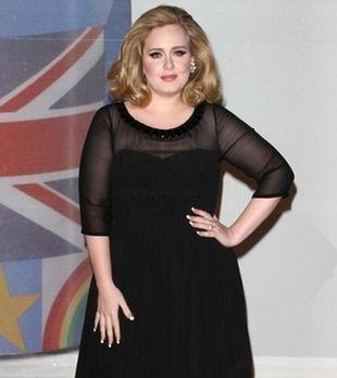 Koniec z puszystą Adele