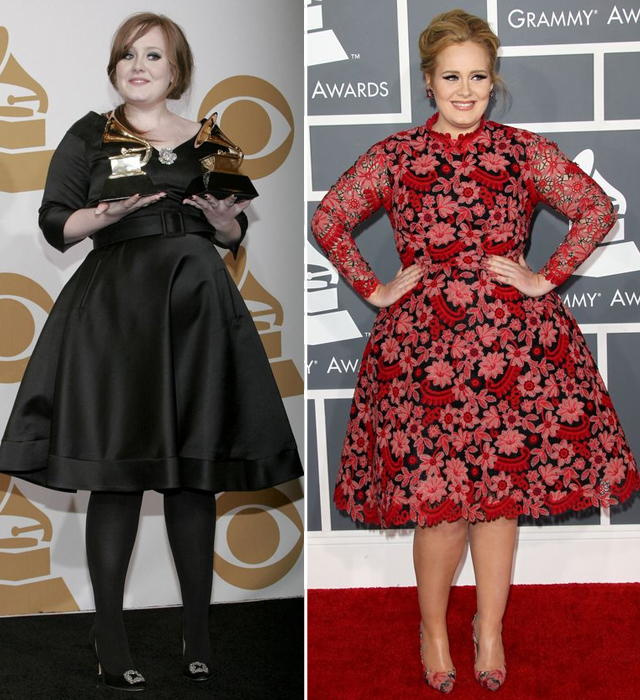 Zobaczcie,jak od początku swojej kariery zmieniała się Adele