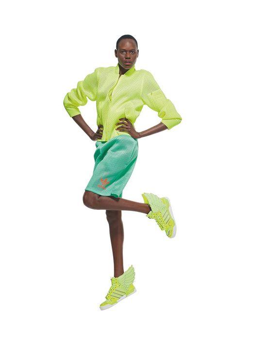Kolorowa jubileuszowa kolekcja Jeremy'ego Scotta dla Adidas