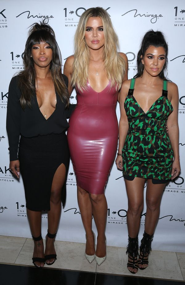 Pamiętacie Kim Kardashian w różowej lateksowej sukience?