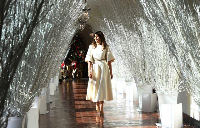 Melania Trump jak Królowa Śniegu w przepięknej sukience od Diora (FOTO)